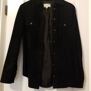 Awesome ELIZABETH & JAMES 100% Suede Shirt